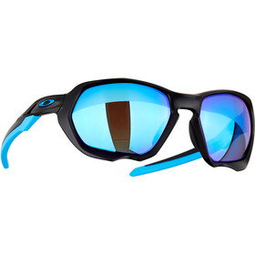 Oakley Plazma Sunglasses Men matte black/prizm sapphire polar